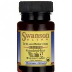 Swanson witamina k2 200mcg